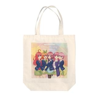 五等分の花嫁 Tote bags