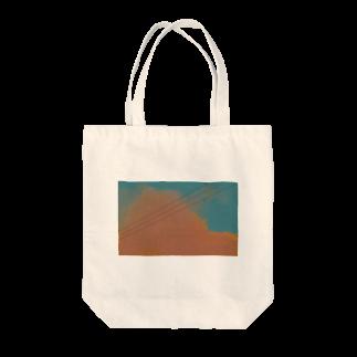 neko_3913の夕雲 Tote bags