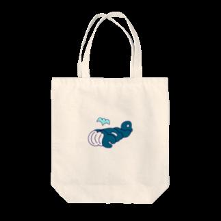 """su-ya320の""""Whale""""クジラ Tote bags"""