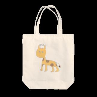 フクダナゴの短いキリン Tote bags