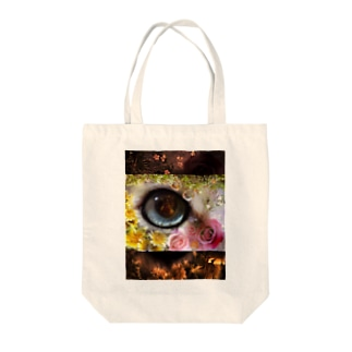 cat's eye01 Tote bags