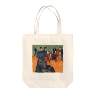 Art Baseのムンク / 病室での死 / Death in the sickroom / Edvard Munch/1893 Tote bags