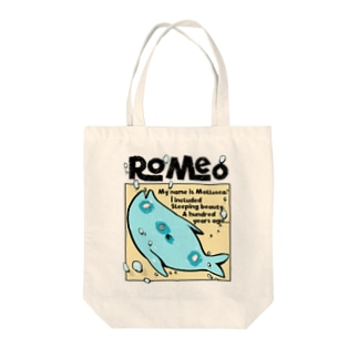 Romeo My name is mollusca Tote bags