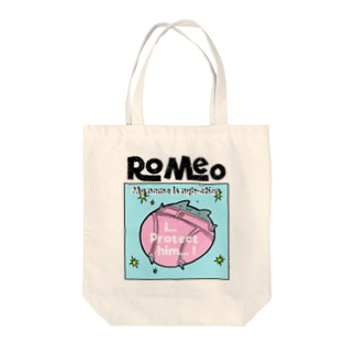 SHOP ROMEO のRomeo My name is nya-chan Tote bags