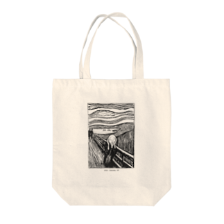 Art Baseのムンク / 叫び / The Scream / Edvard Munch / 1895 Tote bags