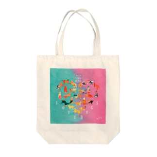 LOVE NICOLE Tote bags