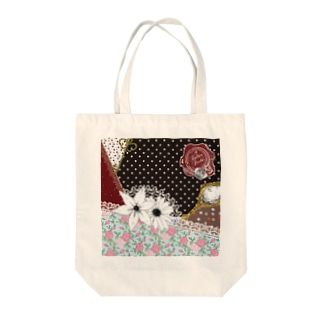 Scarf Pattern Tote bags