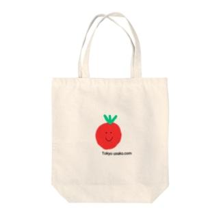tomato Tokyo usako.com Tote bags
