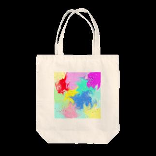 まめ@ゆるふわおもろ発見隊のしぶきっき Tote bags