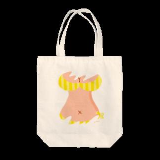 りおたのおっぱいTシャツ(YELLOW) Tote bags