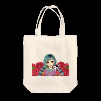 waltz_21の和薔薇 Tote bags