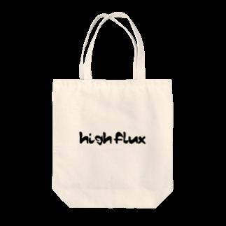 HIGH_FLUXのケミカル風 Tote bags