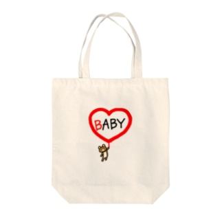 BABYクマちゃん Tote bags