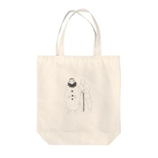 詩人 Tote bags