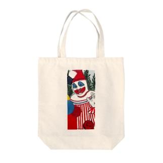 殺人道化 Tote bags