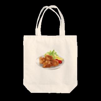 YUKIYA ANDOのからあげ Tote bags
