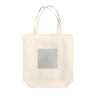 謎クリップ Tote bags