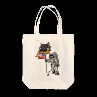 Astro(ムット)のASTRONAUT(オンリーver.) Tote bags