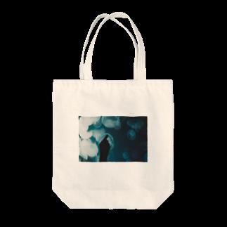 アリムラ アメ@アリネコのarineko_color クラゲ×人 Tote bags