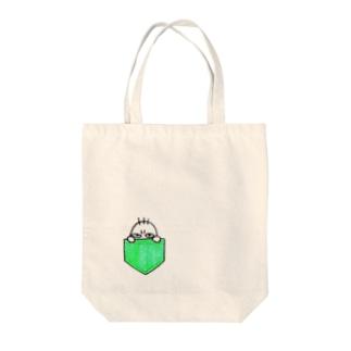てきとうやの図々しいちーたろぉ Tote bags