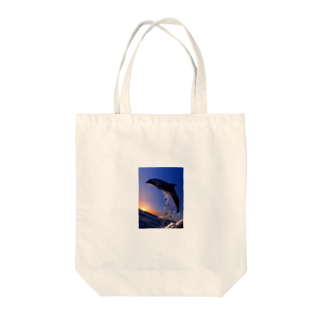 tomsのイルカ  Tote bags