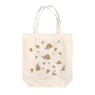 ハリネズミくん Tote bags