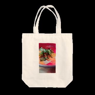 がっこうのそとのikura-salmon Tote bags