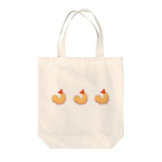 エビフライを三つ。 Tote bags