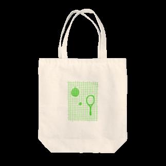 こぐま        の夏にぴったし メロンとテニス Tote bags