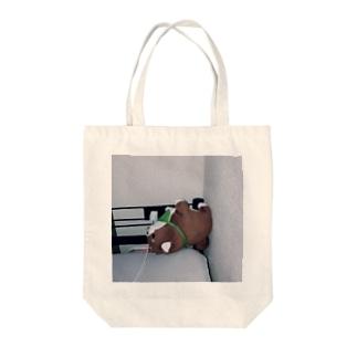 らいおん Tote bags