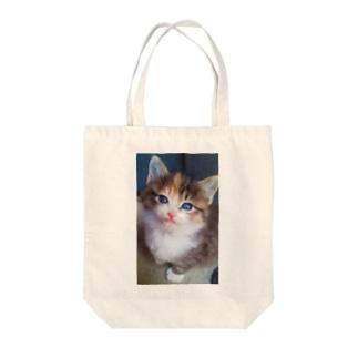 こねこだにゃん Tote bags