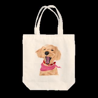 YUKIYA ANDOのまるぷー Tote bags