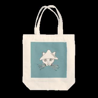 うまみのイカネコ Tote bags