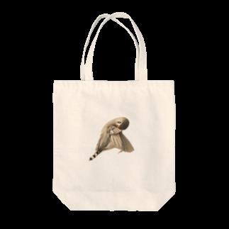 marketUの美人キンカ(淡色向け) Tote bags