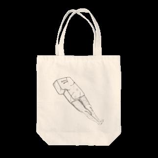 ジャックワンのエンターキー Tote bags