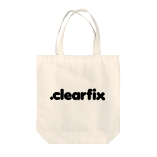 .clearfix Tote bags