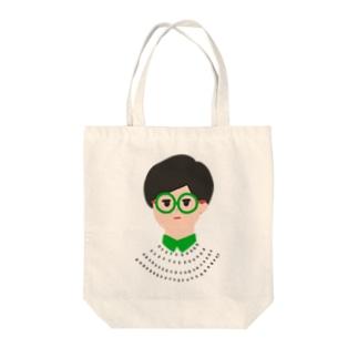 眼鏡メガネ -GLASSES- Tote bags