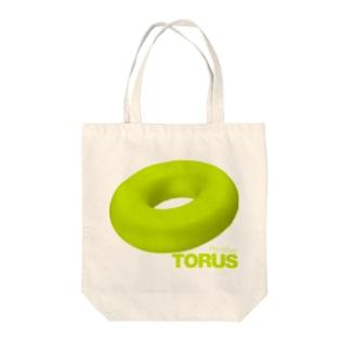 TORUS primitive Tote bags