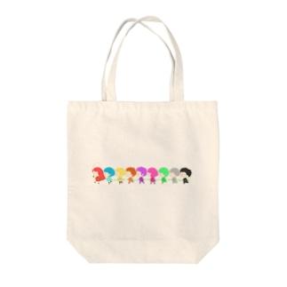 それゆけぺんぺん草ファミリー Tote bags