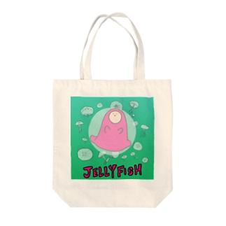 JELLYFISH - クラゲトナメクジ Tote bags
