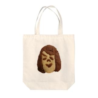 クッキーさんこんにちは! Tote bags