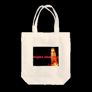 老舗 陽介屋のnight and day Tote bags