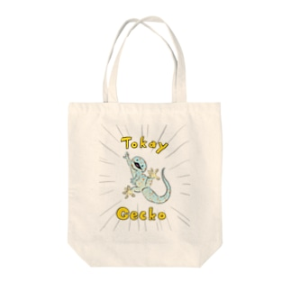 びっくりトッケイ Tote bags