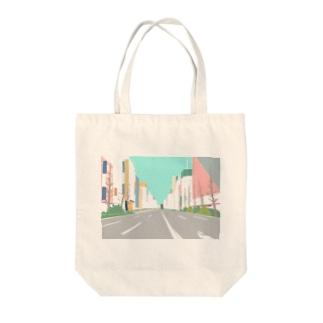 カワイイアキバ Tote bags