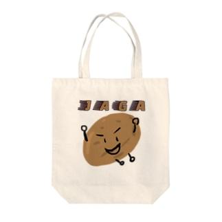 I AM JAGA Tote bags