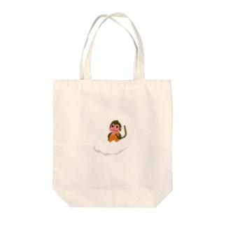 仏モンキー(ぶつもんきー) Tote bags