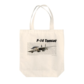 kazu Aviation ArtのF-14 トムキャット Tote bags