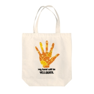My hand will be... Tote bags