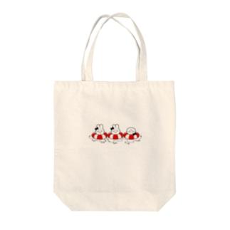うきわちゃん あか! Tote bags
