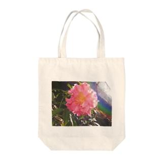 花の虹彩 Tote bags